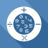 Math icon Stock Photos
