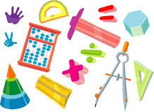 Math for Kids Stock Photo