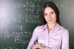 Math lesson Stock Images