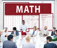 Math Mathematics Calculation Chart Concept Royalty Free Stock Photo