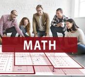 Math Mathematics Calculation Chart Concept Stock Photos