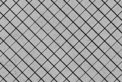 Math notebook page grid black stripes  texture Stock Image