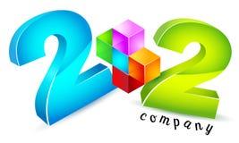 Math, numeracy logo Royalty Free Stock Images