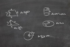 Math problem Royalty Free Stock Photography
