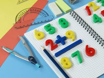Math's learning Royalty Free Stock Photos