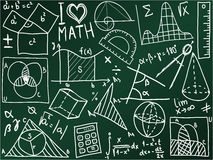 Math school board Stock Photo
