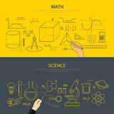 Math and science education concept Royalty Free Stock Photo