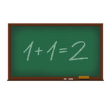 Math on chalkboard illustration Stock Photo