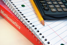 Math Supplies Royalty Free Stock Photos