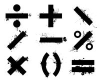 Math symbols Royalty Free Stock Photo