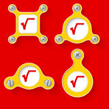 Math symbols Royalty Free Stock Image