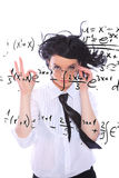Math teacher Royalty Free Stock Photography