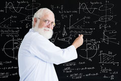 Math teacher royalty free stock photo