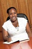 Mathabo au travail Photographie stock libre de droits