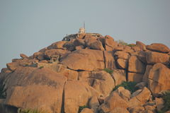 Mathangi hill temple, Hampi, India Royalty Free Stock Image