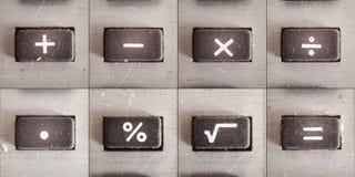 Mathe-Operationen Lizenzfreie Stockfotos