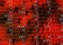 Mathe und Statistikkonzept Lizenzfreie Stockfotografie