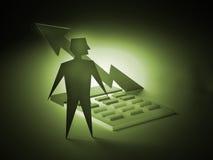 Mathe und Studie Lizenzfreie Stockbilder