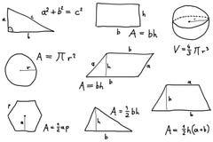 Mathelektion Lizenzfreies Stockfoto