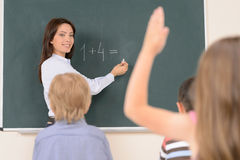 Mathematic class. Stock Photo