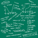 Mathematic formula doodle Stock Photo