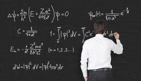 Mathematic formulas Stock Photos