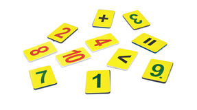 Mathematical actions Stock Photography