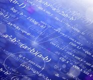 Mathematical background Stock Image