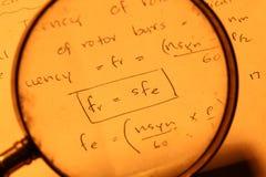 Mathematical Background Stock Photography