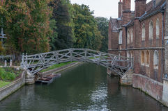 Mathematical Bridge, Cambridge Royalty Free Stock Image