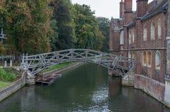 Mathematical Bridge, Cambridge Royalty Free Stock Image