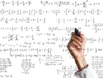 Mathematical calculation Royalty Free Stock Photography