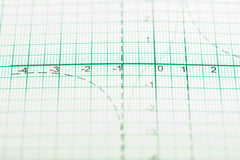Mathematical drawings, concepts and strategies Stock Image