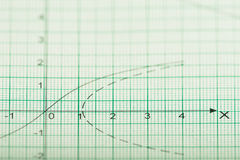 Mathematical drawings, concepts and strategies Stock Photo
