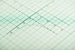 Mathematical drawings, concepts and strategies Stock Images