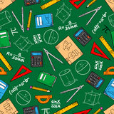 Mathematical Education Seamless Pattern Background Stock Photos