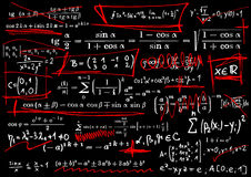 Mathematical equations Stock Photo