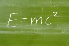 Mathematical formula Royalty Free Stock Photo