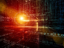 Computing Mathematics Stock Images