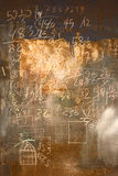 Mathematical formulas background Royalty Free Stock Images