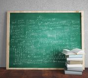 Mathematical formulas Stock Photography