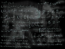 Mathematical formulas Stock Images