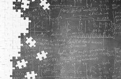 Mathematical formulas Stock Image