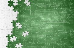 Mathematical formulas Royalty Free Stock Photos
