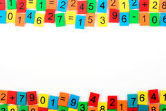 Mathematical frame Royalty Free Stock Photos