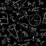 Mathematical seamless pattern Royalty Free Stock Photography