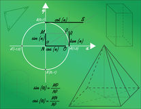 Mathematical shapes Stock Photography