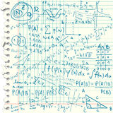 Mathematical symbols Royalty Free Stock Photos