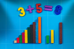 Mathematical Toys for Primary School Stock Photos