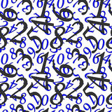 Mathematical wallpaper Stock Images